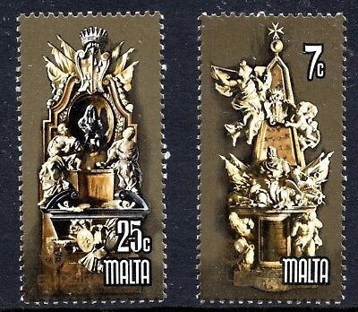 Malta 1978 Europa - Monuments Complete Set SG 599 - 600 Unmounted Mint