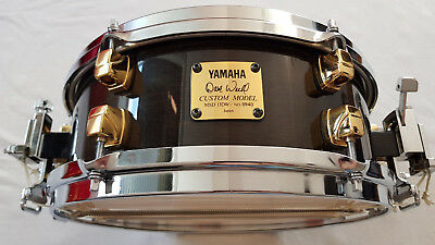 """Yamaha MSD 13DW Dave Weckl Signature Model 13"""" x 5"""" Maple Snare Drum"""