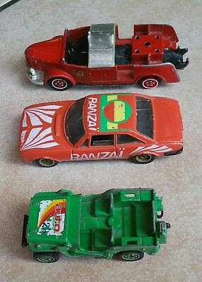 Dinky Solido Époque Lot Ancienne 3 Voiture Vintage bf76gy