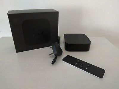 Apple TV 4th Generation 64GB A1625 - With remote