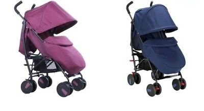 Cuggl Maple Pushchair - Choice of Blue / Pink