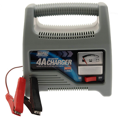 Maypole 12V Battery Charger 4A MP7414