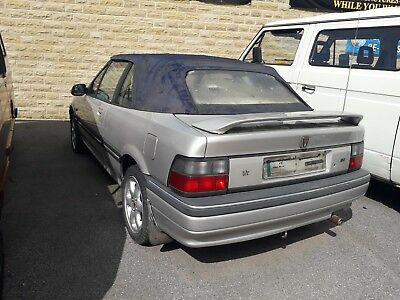 ROVER CABRIOLET SPARES OR REPAIR has TOM-CAT FRONT END