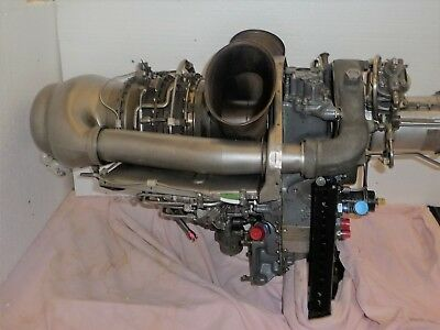 Bell 206 Helicopter C18c Engine