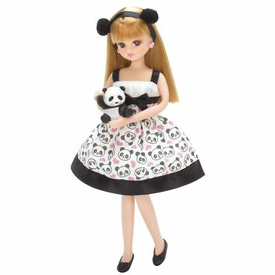"""Takara Licca 9"""" Doll Blythe LD-07 Ciao Ciao Panda Body w/ Outfit (without Box)"""