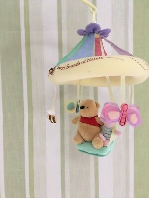 Winnie The Pooh Baby Cot Mobile- New Without Packaging