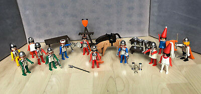 Vintage 1976 Playmobil  Knights and other Figures + parts