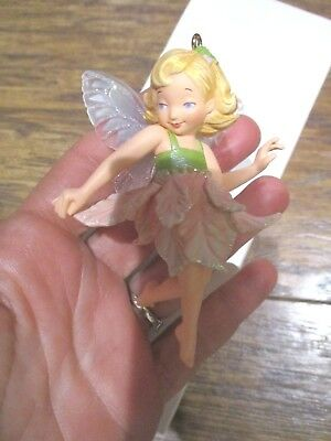 HALLMARK Keepsake Poinsettia Fairy Special Edition Christmas ornament  2007