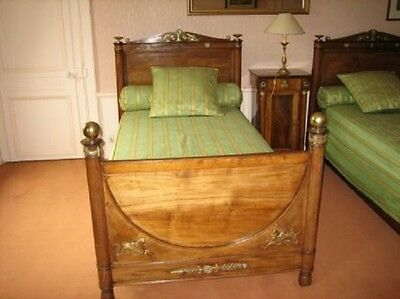 2x BEDS Empire style (French) / complete set
