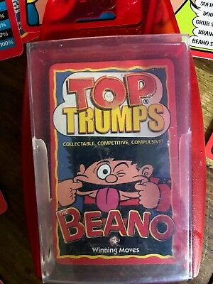 TOP TRUMPS - 2003 Beano Collectors Edition Card Game