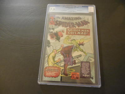 Amazing Spider-Man #24 May 1965 CGC 7.5 Silver Age Marvel Comics ID:36688