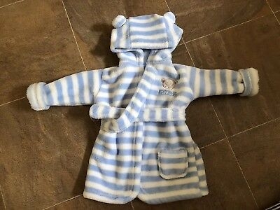 Baby Teddy Bear Dressing Gown 6-9 Months