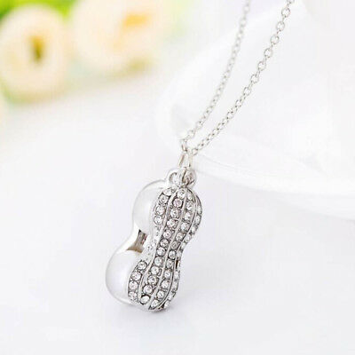 Cute Gifts Women Necklaces Chain Pearl Women's Necklace Pendant Peanut Jewelry
