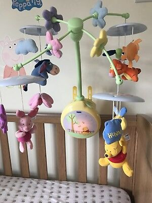 Baby Cot Mobile, Musical - Winnie The Pooh ,