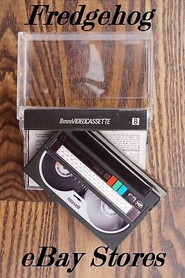 A QUALITY MAXELL P5-90 8mm/ VIDEO 8 & Hi8 HIGH QUALITY CAMCORDER TAPE/ CASSETTE