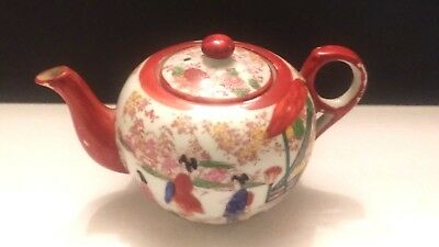 Vintage Made In Japan Gisha Girls Tea Pot
