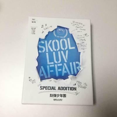 BTS Bangtan Boys Skool Luv Affair cd DVD Special Edition No photocard