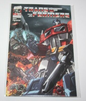 Transformers: Generation One #1, Cover A - January 2004 - Dreamwave Comics