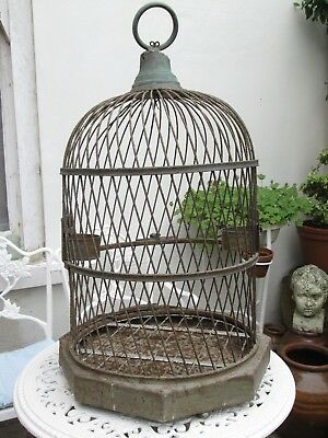 Antique Vintage Bird Cage Parrot Cage Birdcage Large