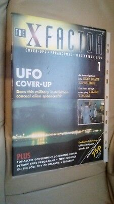 The X Factor Ufo Coverups Marshall Cavendish Issue 1