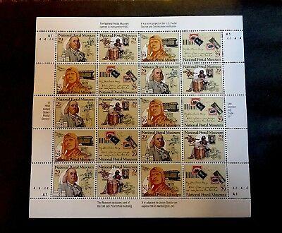 US Postage Stamps Scott's #2779-82 NATIONAL POSTAL MUSEUM 29 cent