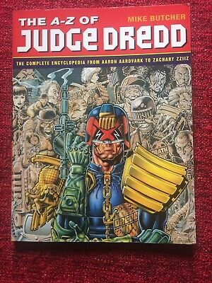 A-Z of Judge Dredd by Mike Butcher (Paperback, 1995) (not 2000AD)