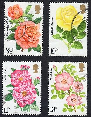 Great Britain: Royal National Rose Society; complete fine used set