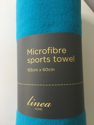 New - Linea House Of Fraser Microfibre Sports Towel