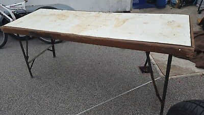 Market stall, car boot ,HEAVY DUTY FOLDING TABLE. Job lot , Joblot, or only one