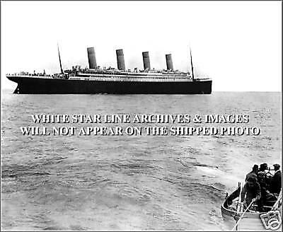 Photo Print One Of The Last Photos Ever Taken Of The Titanic, April 11th, 1912