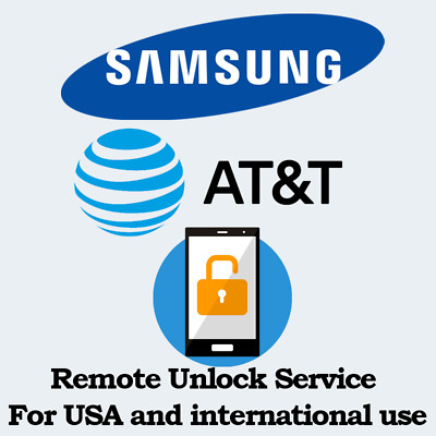 INSTANT Remote Unlock Service For at&t XFINITY NOTE 8 ,S9 S9PLUS  S8 AND S8+