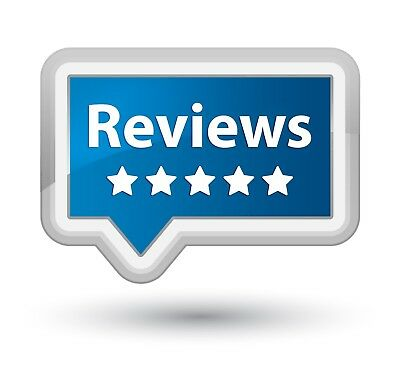 5-5* Star Google/yell/ social network Reviews