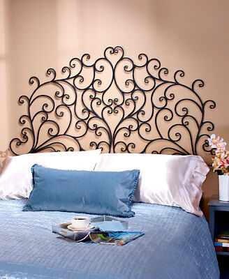 The Lakeside Collection  Scrolled Wall-Mount Headboards