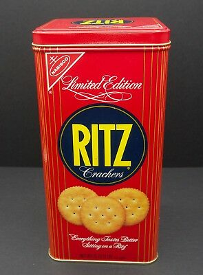 Nabisco Ritz Crackers Limited Edition tin 1986