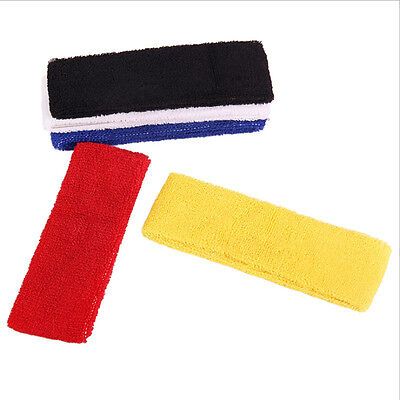 Great Sport Headband Elastic Cotton GYM Tennis HeadBand Basketball Pop FU