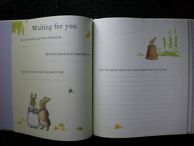 M&S Peter Rabbit Baby Record Book