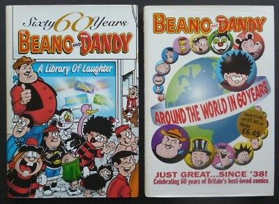 Dandy and Beano Around the World; Library of Laughter Excellent condition