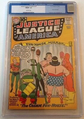Justice League Of America #7 Cgc 7.0 1961 Dc Off White Pages Old Label