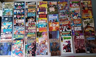 Comic books  54 DC, marvel and others. Job Lot