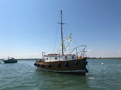 Classic 1940s Deben Fishing Boat 22ft
