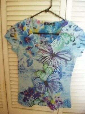 Nwot Apt. 9 Pretty T-Shirt Size Xs, Gently Worn Chico's Gray Jeans Size 1 Short