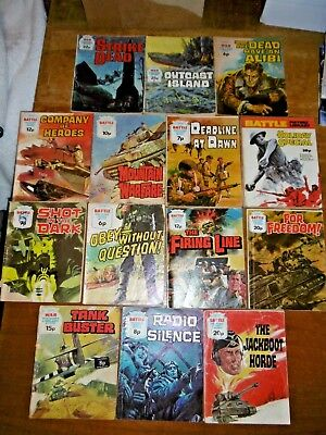 BATTLE and WAR Picture Library Books x 15 -  lot #6