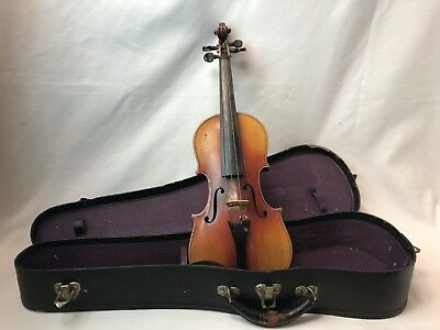 ** Antique German Made Stradivarius Copy Violin **