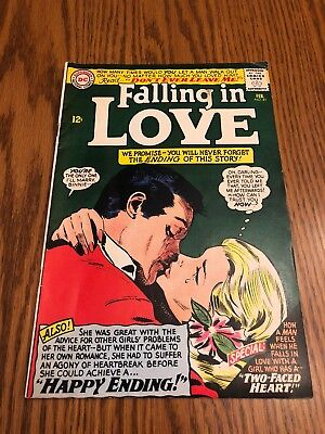 Falling In Love #81 (1966, DC).  F.  Glossy Hot DC ROMANCE Title!