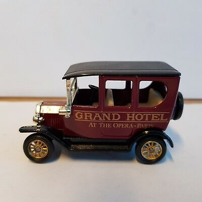 """LLEDO DAYS GONE DG 6-8-33 """"Ford T VAN, GRAND HOTEL"""" , Made in England, ohne OVP"""