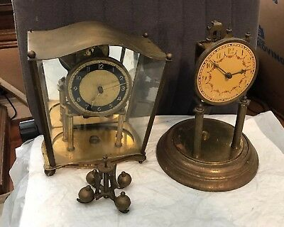 Two Vintage Germany Clocks  For Parts