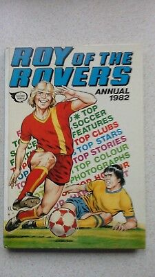 Roy of the Rovers 1982 annual