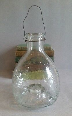 Antique/Vintage French Glass Fly Catcher/Trap