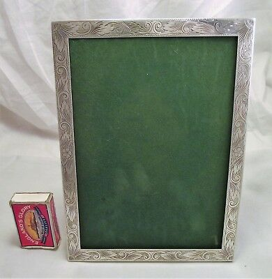 Solid Sterling Silver Photo Frame Birmingham 1990 - Asprey 8 By 6 Inches