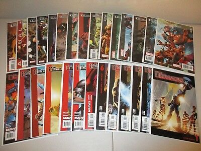 The Ultimates #1-13 + Ultimates 2 #1-13 + Annuals (Marvel Full Series Lot of 28)